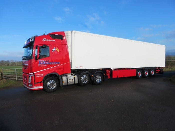 michael johnstone truck